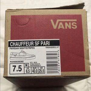 Vans Shoes - VANS Chauffeur Surf Siders